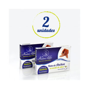 Anchoas de Santoña - Pack 2 Hansa 24-28