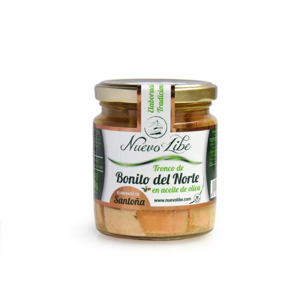 Bonito del norte en aceite de oliva Nuevo Libe 250g